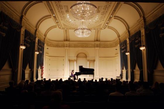 Making my Carnegie Hall debut!