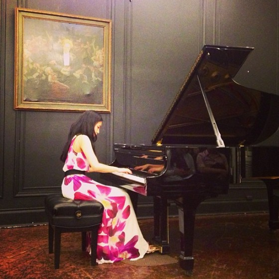 Performing at Steinway Hall!